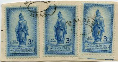 Stamps: United States Three Cent