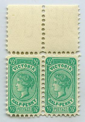 Stamps: Victoria Half Penny