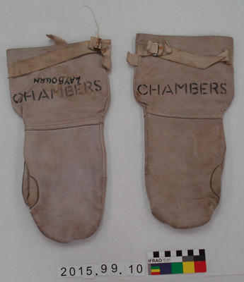 Mittens: Leather