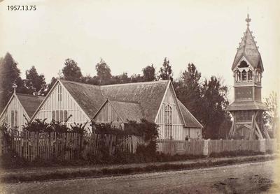 Photograph: Old St. Michael's Church, Christchurch