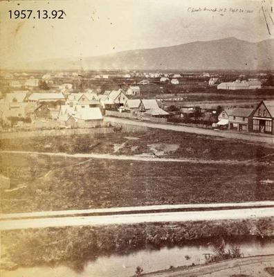 Photograph: Christchurch, New Zealand 1860