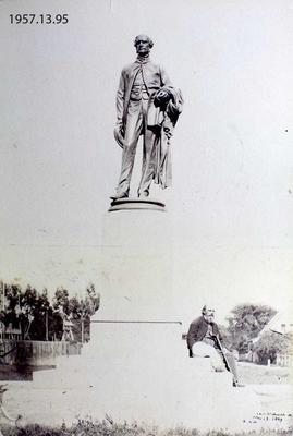Photograph: Godley Statue, Christchurch