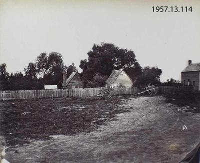 Photograph: Aboriginal Cottages, Cathedral Square, Christchurch