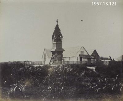 Photograph: St Michael's Church, Christchurch 1861