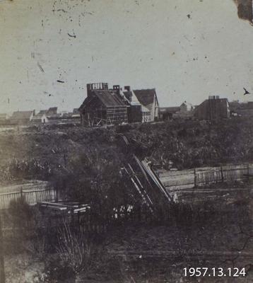 Photograph: Commencement of Provincial Buildings