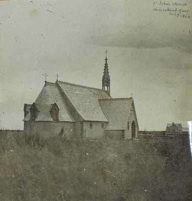 Photograph: St John's Church, Christchurch 1860