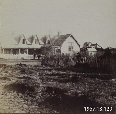Photograph: Land Office, Christchurch 1860