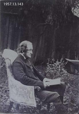 Photograph: Portrait of a Seated Man