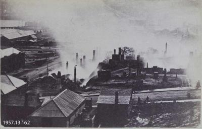 Photograph: Lyttelton, Morning after the Fire