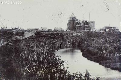 Photograph: Government Buildings, Christchurch 1858