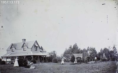 Photograph: House and Garden 1872