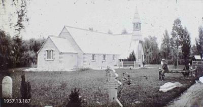 Photograph: Avonside Church 1873