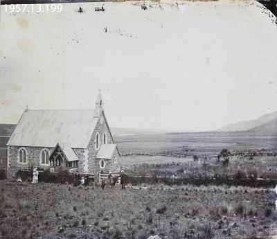 Photograph: Mount Peel Church 1872
