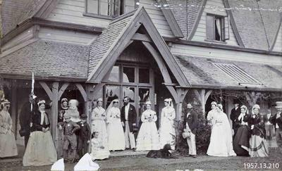 Photograph: W C Walker Wedding, Broomfield