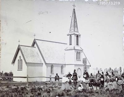 Photograph: Saint Stephen's Church. Kaiapoi