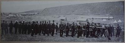 Photograph: Canterbury Volunteer Regiment Artillery Company