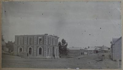 Photograph: Bank of New Zealand, Timaru 1870