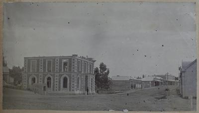 Photograph: Bank of New Zealand, Timaru 1870