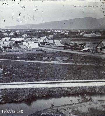 Photograph: Christchurch 1860