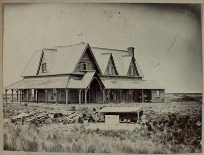 Photograph: Wilson's House, Broomfield 1863
