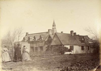 Photograph: Reverend Harris, Headmaster Christ's College