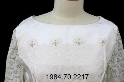 Wedding Dress: Duchess Satin
