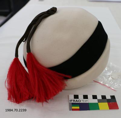 Hat: Red Tassels