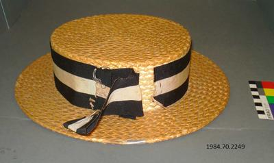 Hat: Christ's College Boater