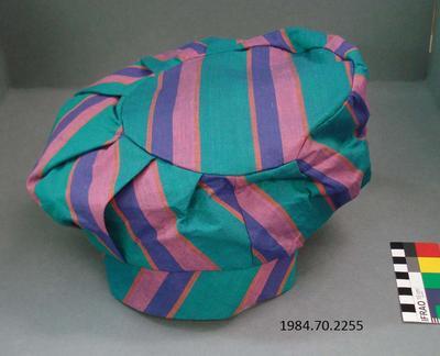 Hat: Striped Beret