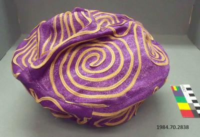 Hat: Purple Beret