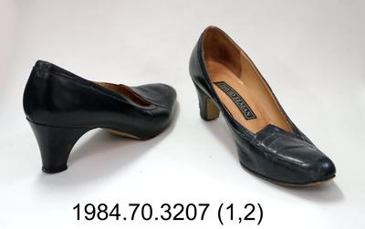 Shoes: Black Office Court