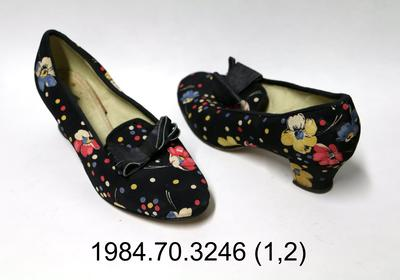 Shoes: Floral and Polka Dot Court