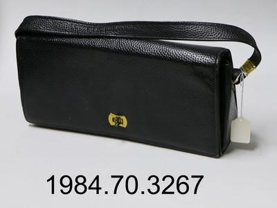 Purse: Black Rectangle
