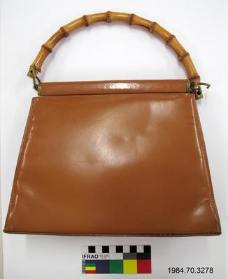 Purse: Bamboo Handle