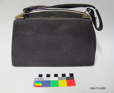 Purse: Black Grosgrain