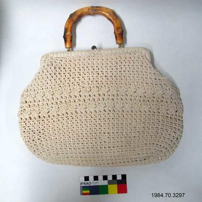 Purse: White Crochet