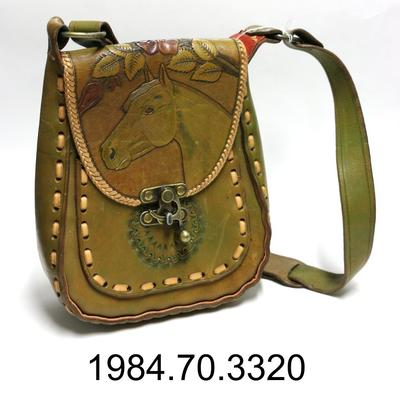 Purse: Horse and Roses