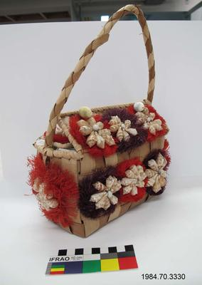 Purse: Woven Palm Leaves