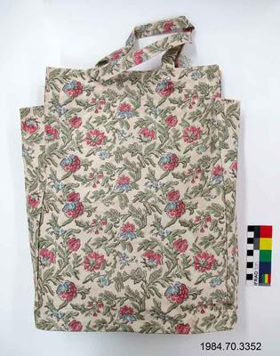 Bag: Floral Plastic