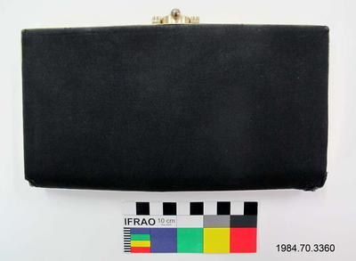 Purse: Black Grosgrain