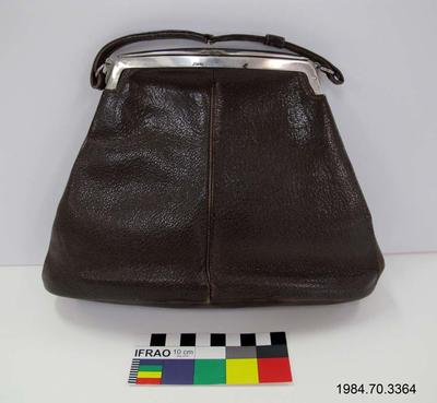 Purse: Brown Moroccan Leather