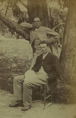 Photograph: Alfred E Cox and E B Cox