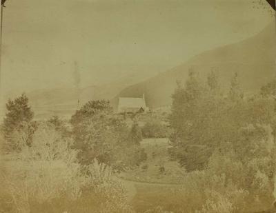 Photograph: Garden and Church
