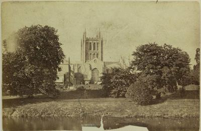 Photograph: Hereford Cathedral and Bishops Palace