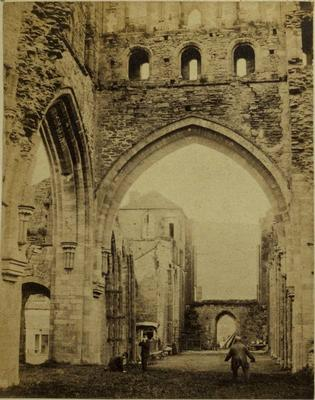 Photograph: Llanthony Abbey