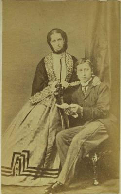 Photograph: Prince and Princess of Wales