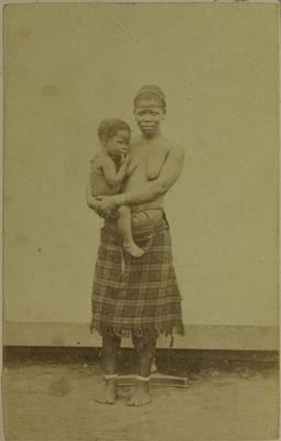 Photograph: Woman and Small Child