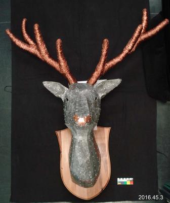 Artwork: Oh Deer, Who Will Lead Santa's Sleigh?