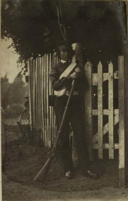 Photograph: Private Samuel Delabere Barker
