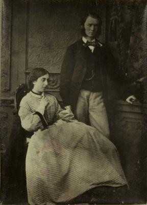 Photograph: Charles Christopher Bowen and Mrs Bowen; 1957.13.260